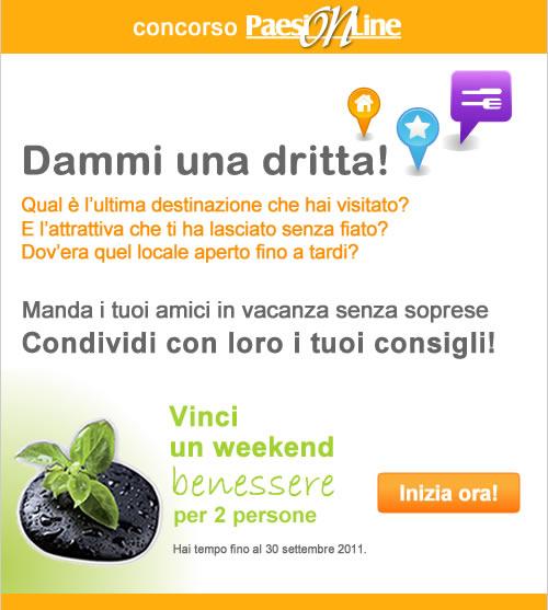 Dammi Una Dritta, PaesiOnLine su Facebook